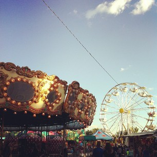 Some of my fondest childhood memories are attached to the county fair, so it's no surprise I return every year and indulge in glorious funnel cakes and lemon shake ups.