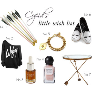 Cupids wish list